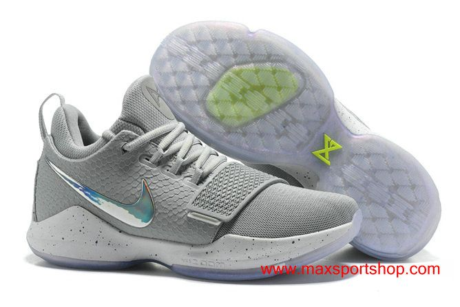 separation shoes 2323f 113f3 ... promo code for nike pg 1 2k london cool grey shining swoosh mens  basketball shoes feb7b
