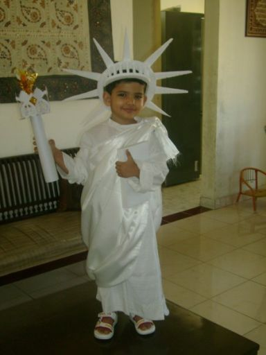 171b1c69b1 Statue Of Liberty Fancy Dress Competition, Apple Costume, Halloween Kids,  Dresses, Dress