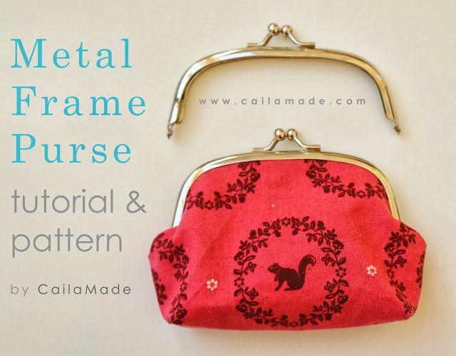 steel frame purse DIY