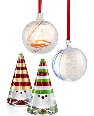 - Kosta Boda Holiday Collection - Christmas Ornaments - Holiday Lane
