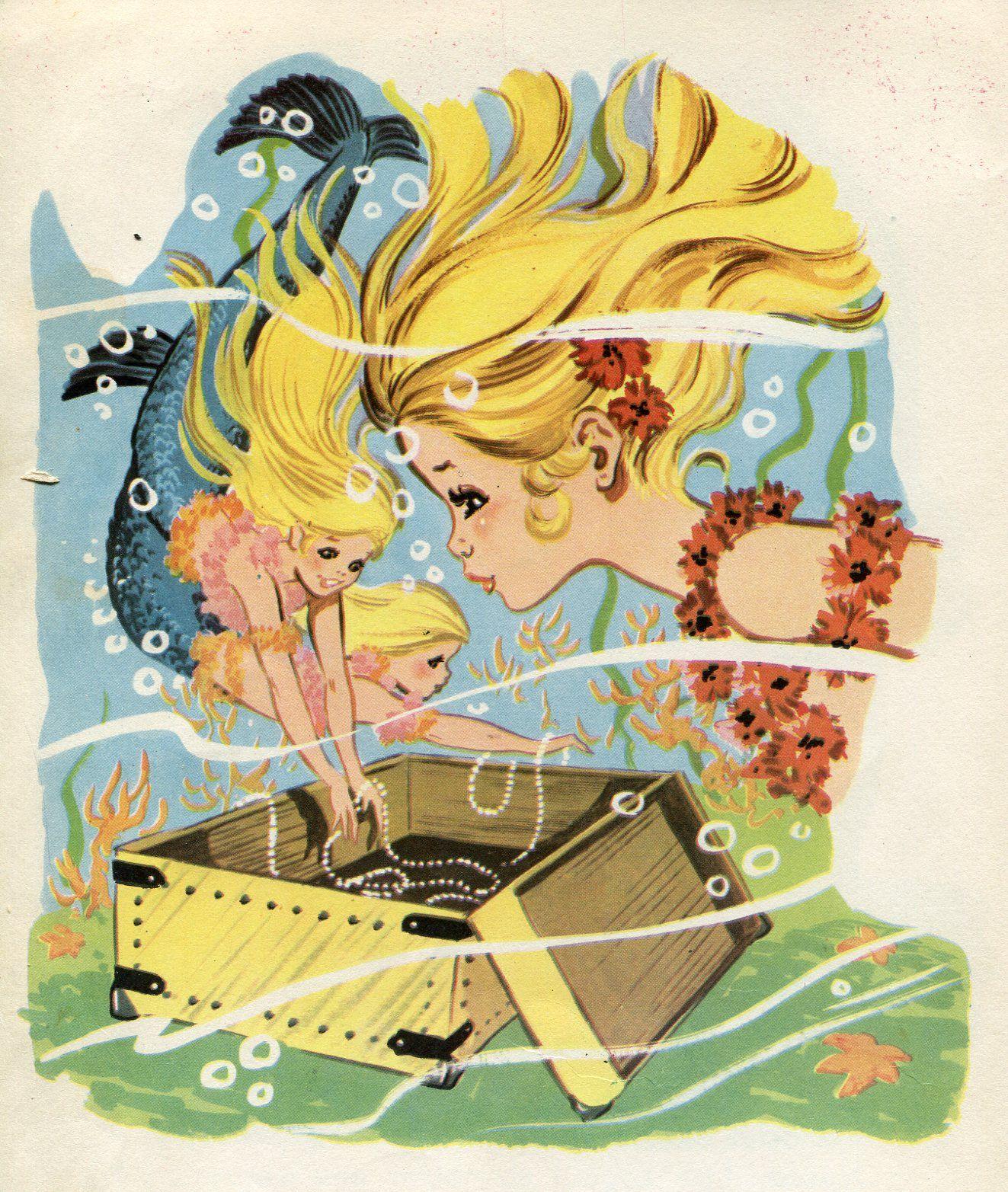 literatura infantil y juvenil. María Pascual ilustra La Sirenita.