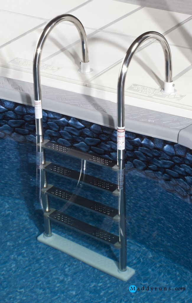 Swimming Pool:Swimming Pool Ladder Installation Above Ground Pool ...