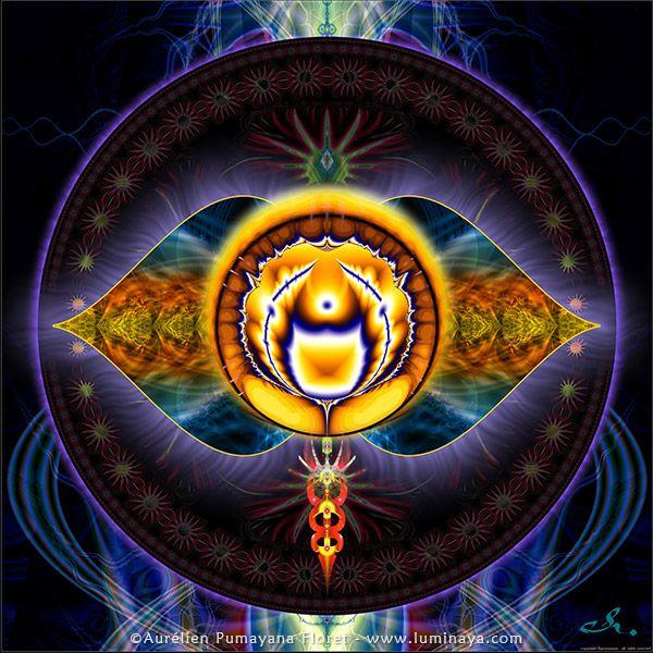 Chakras - Página oficial del artista visionario PUMAYANA