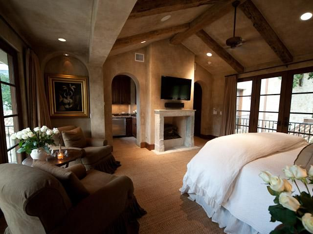 Master Bed Room, yessss please. I love love the big windows on both sides of the bedroom!
