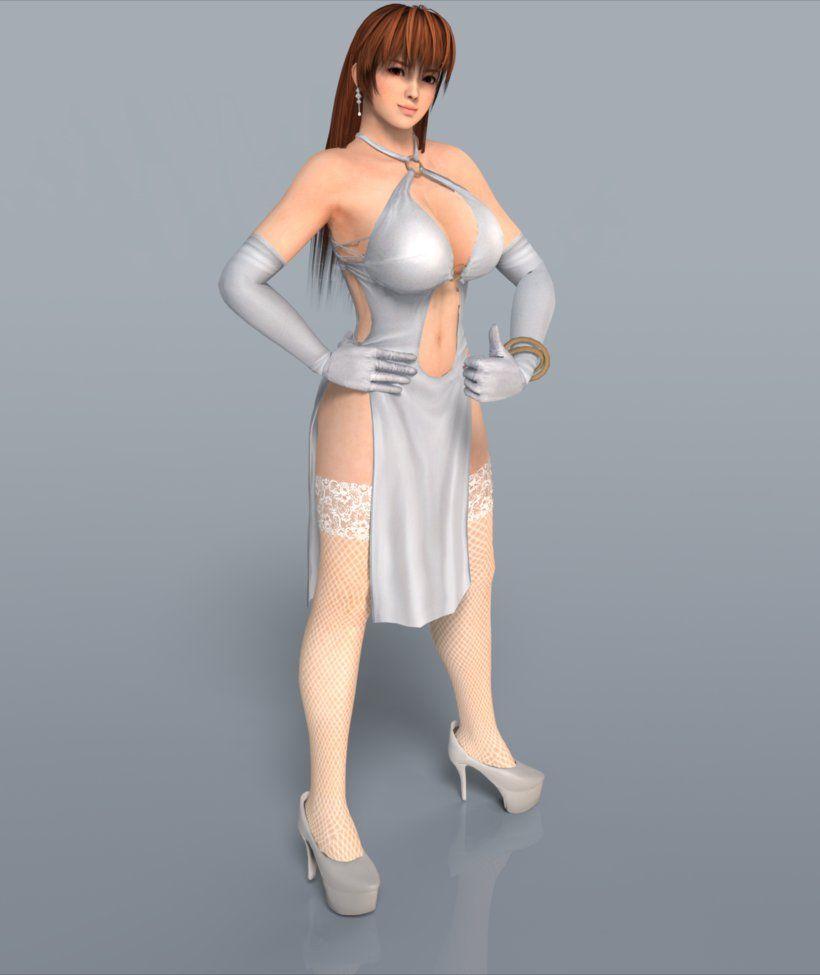 Kasumi White Dress by RuiDX