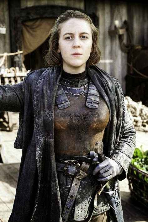 Yara Greyjoy. I didn't like at her at first because she was so butch, but I really respected her after she defied her father's orders and risked everything to save her brother. She reminds me a lot of Brienne of Tarth.