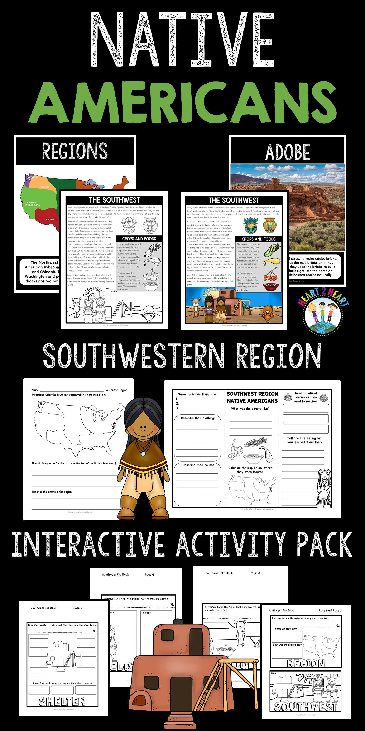 Native Americans That Lived In The Southwest Region