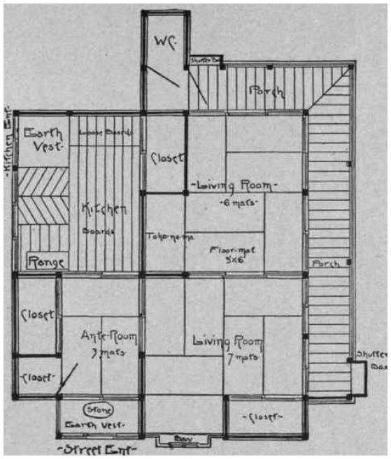 Traditional Japanese Mansion Floor Plans