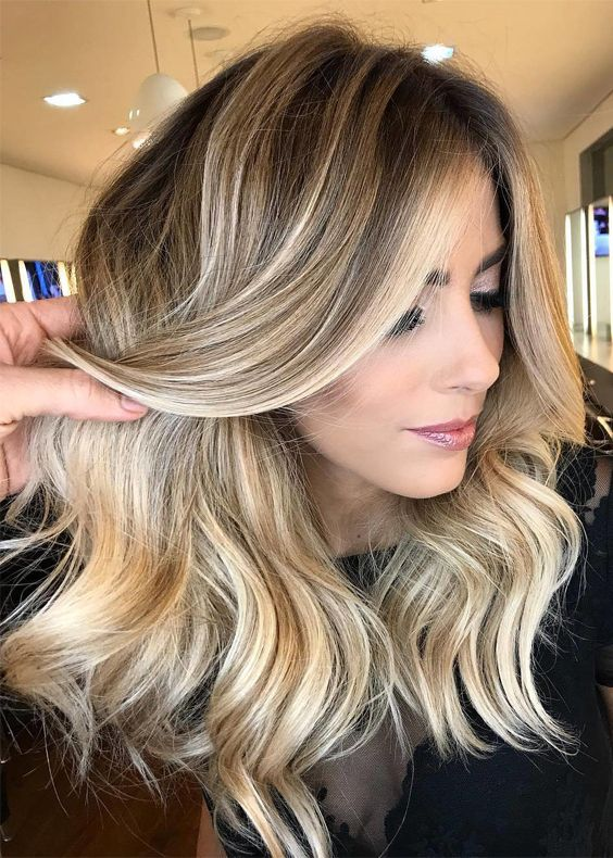 Absolutely Perfect Choice Of Balayage Highlights In 2017 2018
