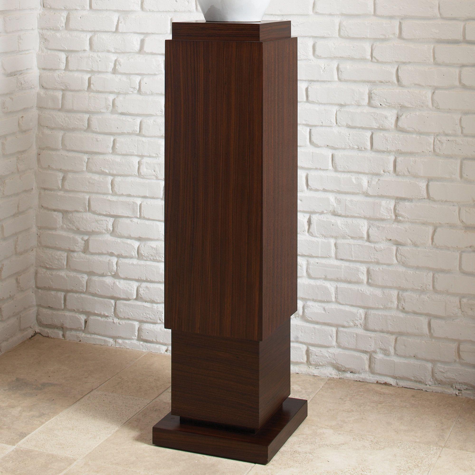 Square Pedestal Plant Stand Wood Pedestal Pedestal Global Views