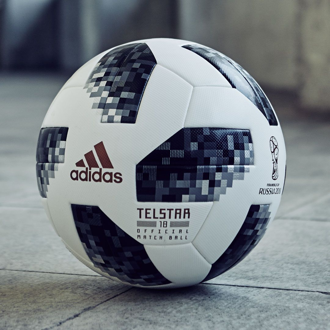 The Adidas Telstar 2018 Official World Cup Match Ball Standard Shipping Is Free On All Official Match Balls And Match Custo Soccer Balls Fifa World Cup Match
