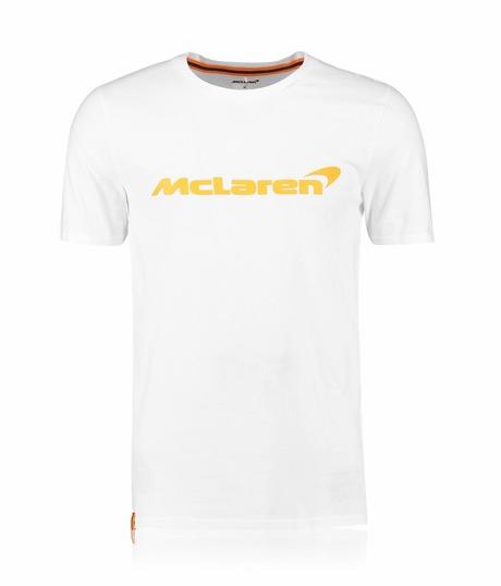McLaren Renault Formula 1 Men's Essentials White T-Shirt