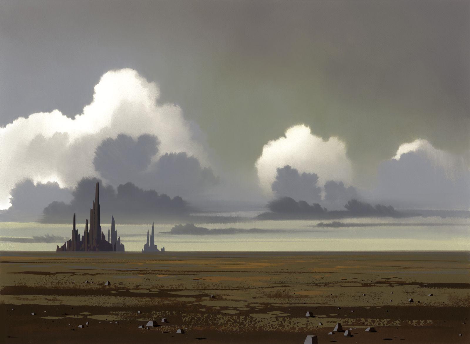 Star Wars Clone Wars Animation Background Background Digital