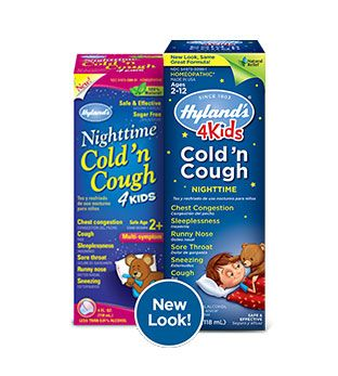 Hyland S 4 Kids Cold Cough Nighttime Cough And Cold Medicine Cough Children S Medicine