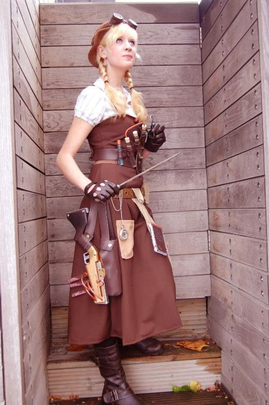 How to Create a Steampunk Persona « Steampunk R&D:   I love this tutorial on how to create your Steampunk Persona.
