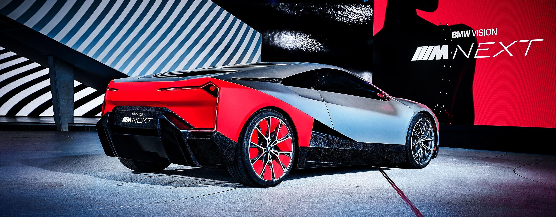 Electrified Future Of Bmw Vision M Next Revealed Trackworthy Bmw Bmw Sports Car Bmw Design