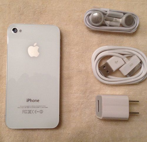 Apple iPhone 4 32GB Quad-band World GSM Phone (Factory Unlocked)- WHITE