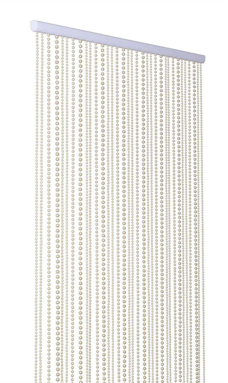 Ivory Pearl Beaded Curtain 8 Feet Long Beaded Curtains