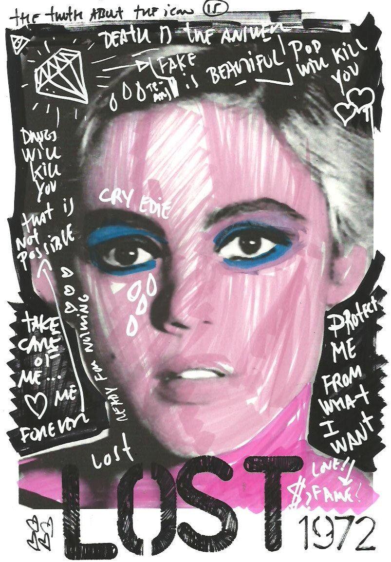 Edie Sedgwick Dsngs Love Art Pop