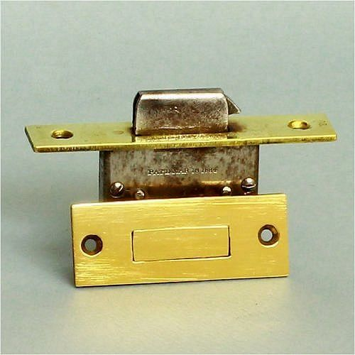 A top quality antique cabinet lock by the Corbin Cabinet Lock Company of  Ontario. In - A Top Quality Antique Cabinet Lock By The Corbin Cabinet Lock