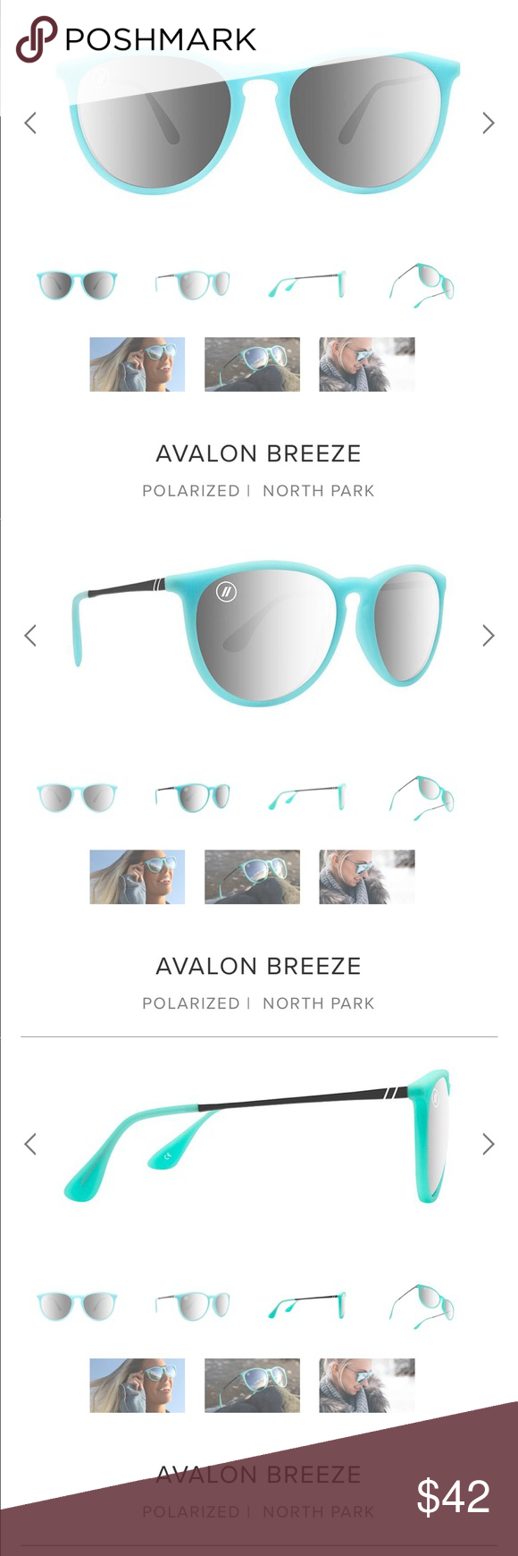 b1c276a60a7 Blenders Eyewear Avalon Breeze Sunglasses Brand new. Still in the box. The  color isn t what I thought it would be and it s past the time to return.