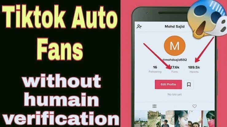 Tik Tok Auto Followers Website Without Human Verification In 2020 Auto Follower How To Get Famous Tik Tok
