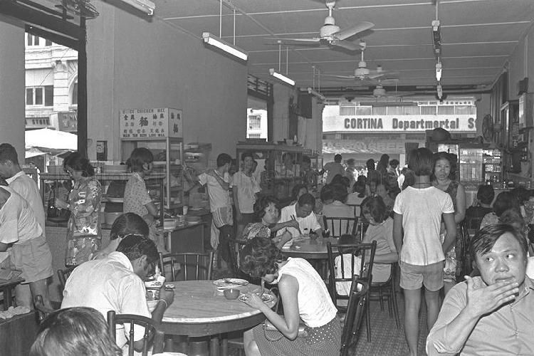Coffee Shop At Hock Lam Street Just Off North Bridge Road Street Coffee Coffee Shop Photographs And Memories