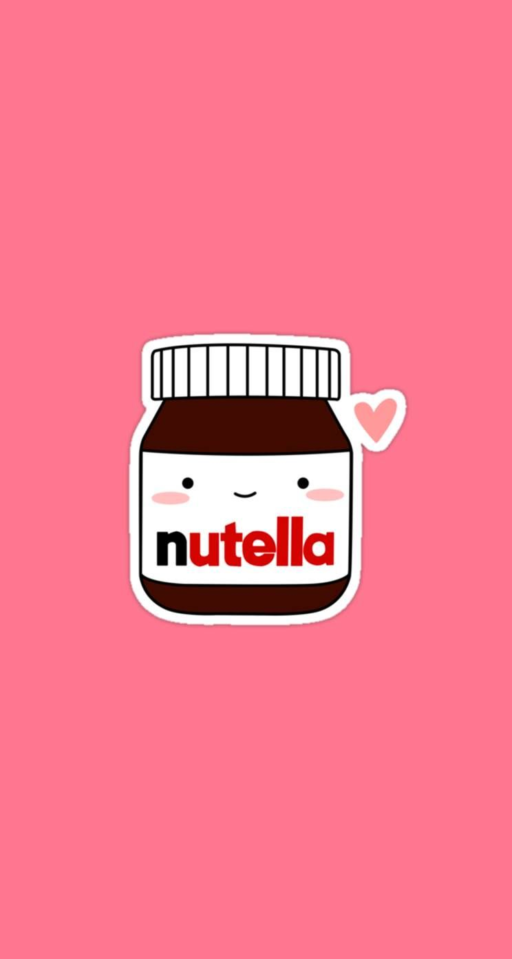 Papel De Parede Da Nutella Para Celular Wallpaper Iphone Cute Cute Wallpapers Nutella