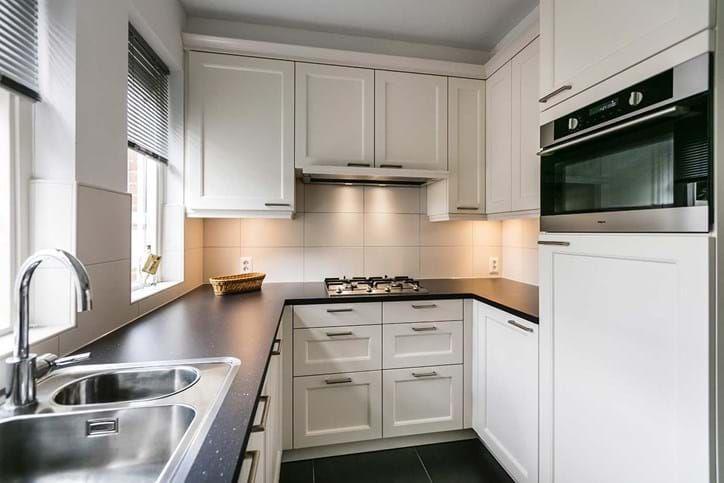 Keuken Witte Kleine : Kleine u keuken. kleine witte landelijke keuken keukens