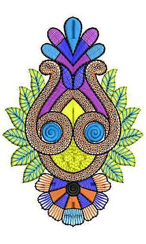 African Saree Embroidery Applique Design Embroidery Design