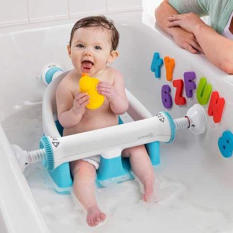 New Adjustable Sturdy Infant Baby Toddler Bath Tub Ring Seat Toddler Bath Baby Bath Seat Baby Bath Tub