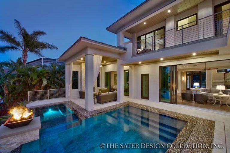 modern luxury home designs inspiring fine moderno house plans modern rh pinterest co uk