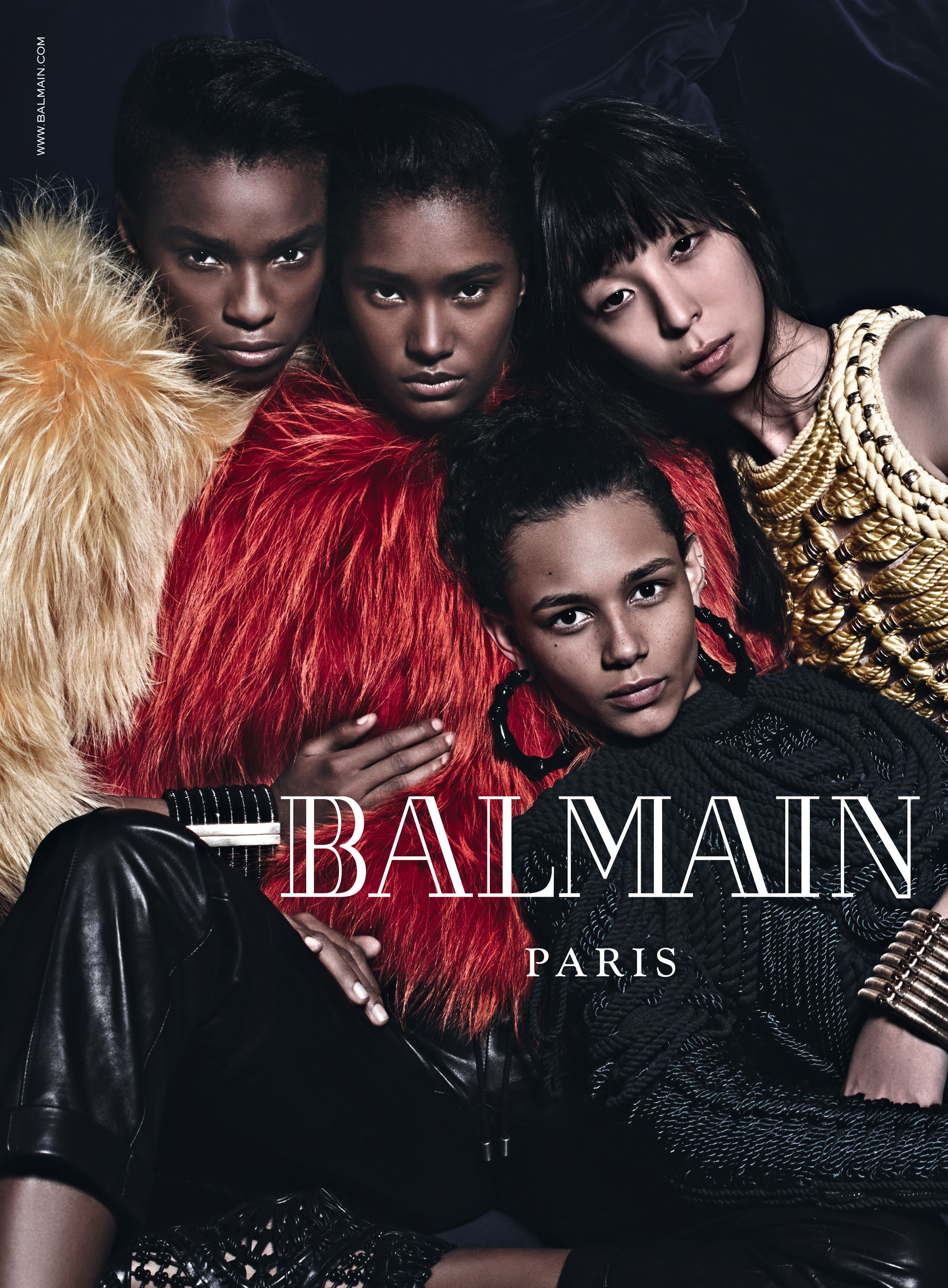 While we #STAYHOME, we invite you to relive the best moments from the #BALMAIN archives, starting with #BALMAINFW14.