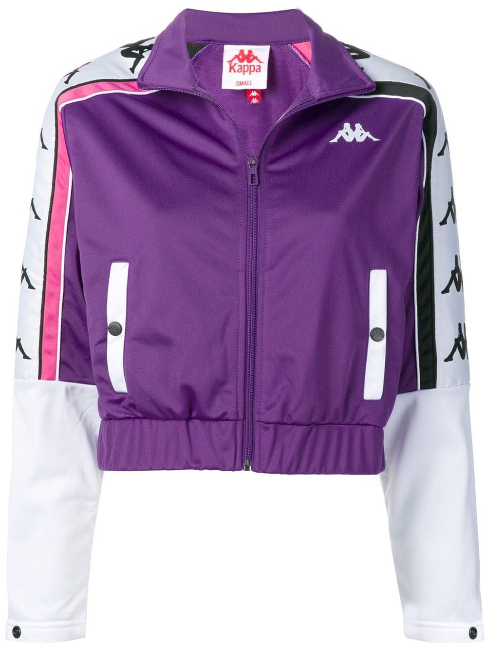 Kappa cropped track jacket Purple (With images)   Jackets