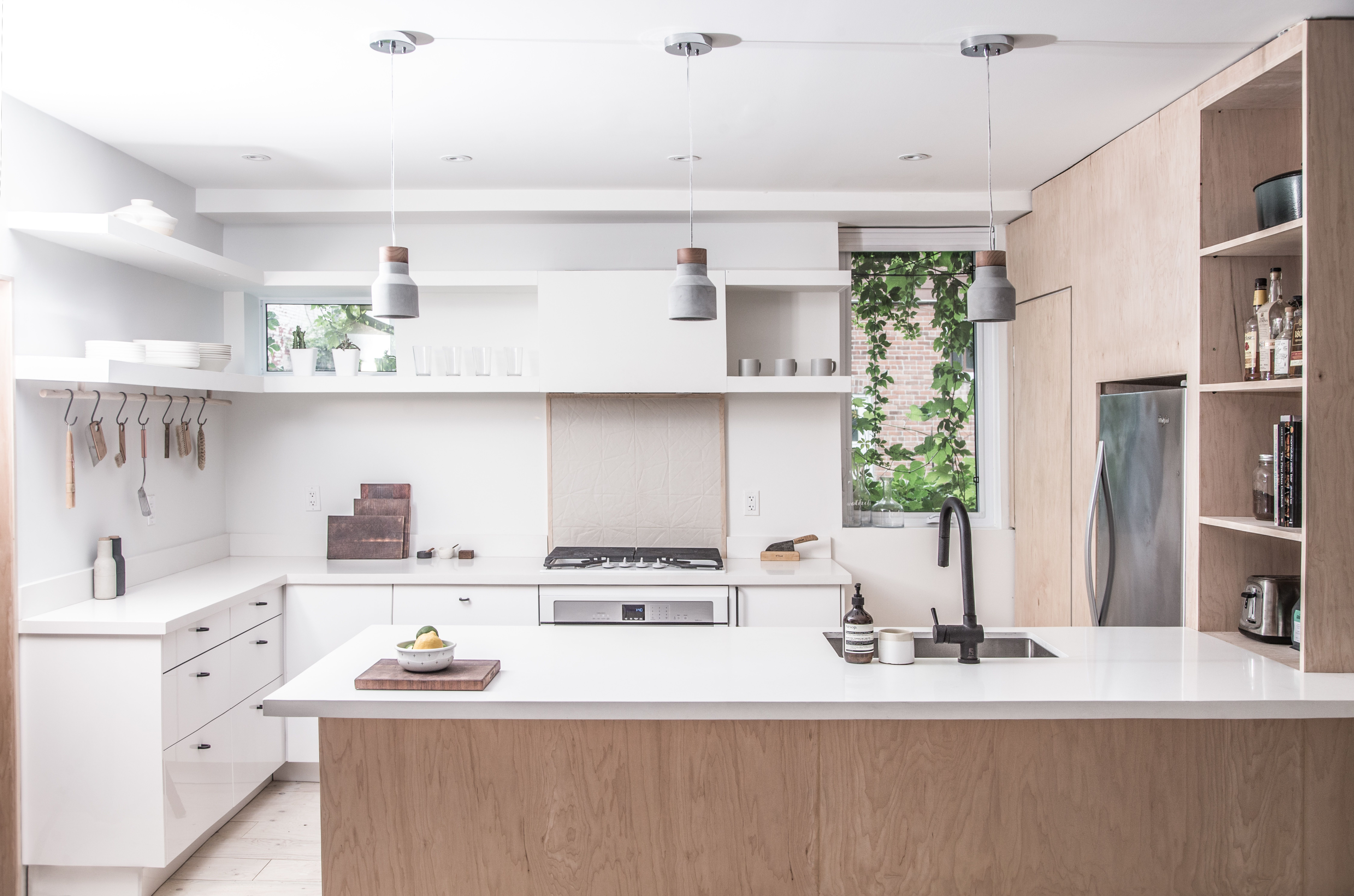 Sheridan Residence By StudioAC. Open Shelving In KitchenContemporary ...