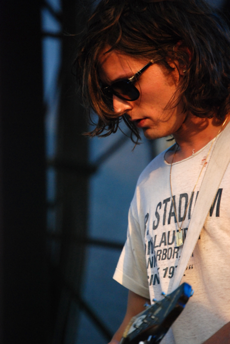 Nick Valensi - lead guitarist of The Strokes.