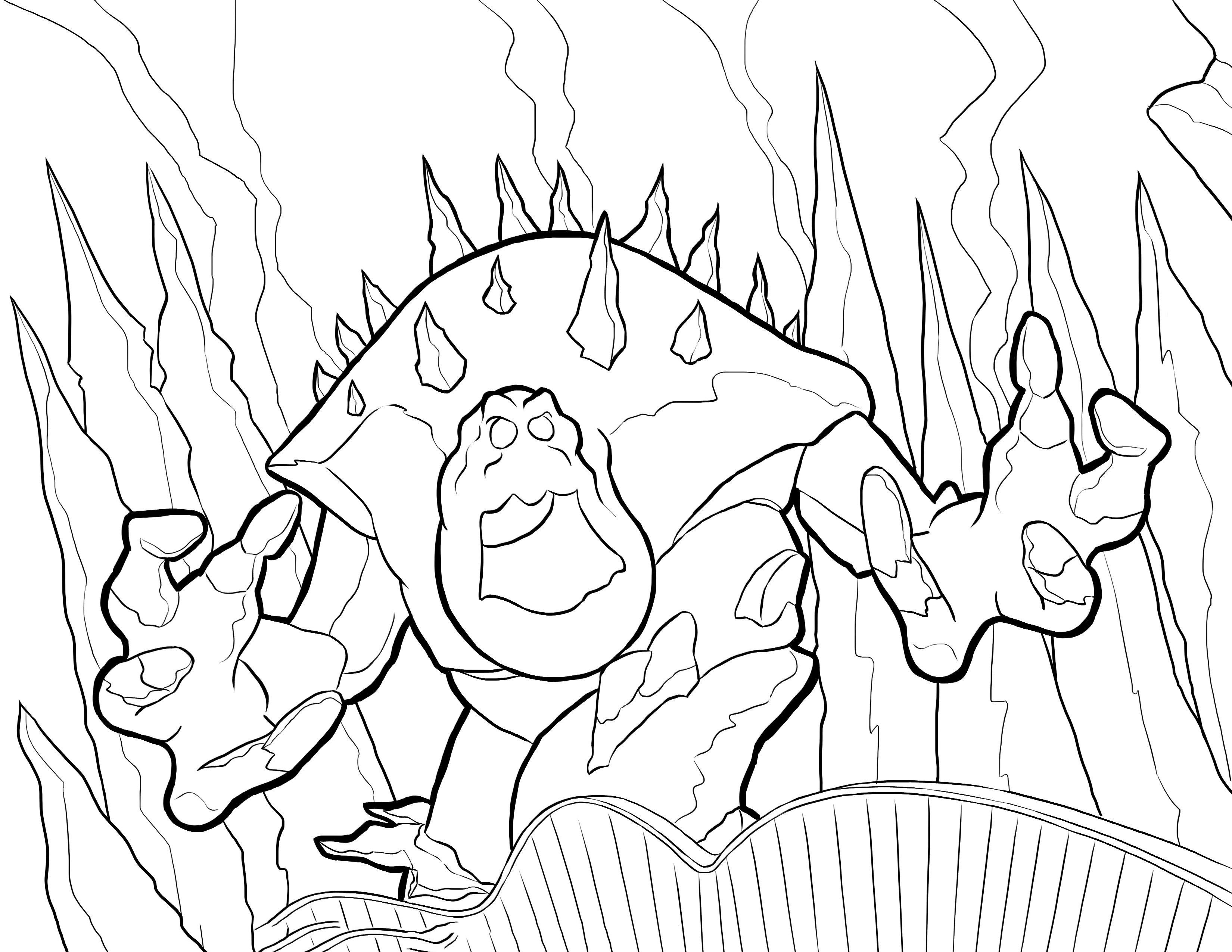 Frozen Coloring Pages For Kids Printable Online Coloring 2