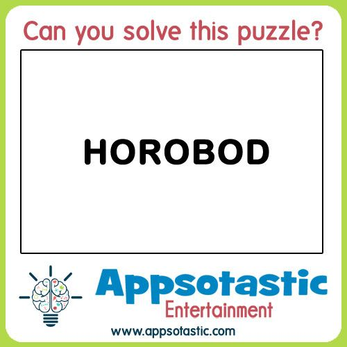 can you solve this rebus word puzzle 3 horobod a simple mind plexer for you today keep. Black Bedroom Furniture Sets. Home Design Ideas