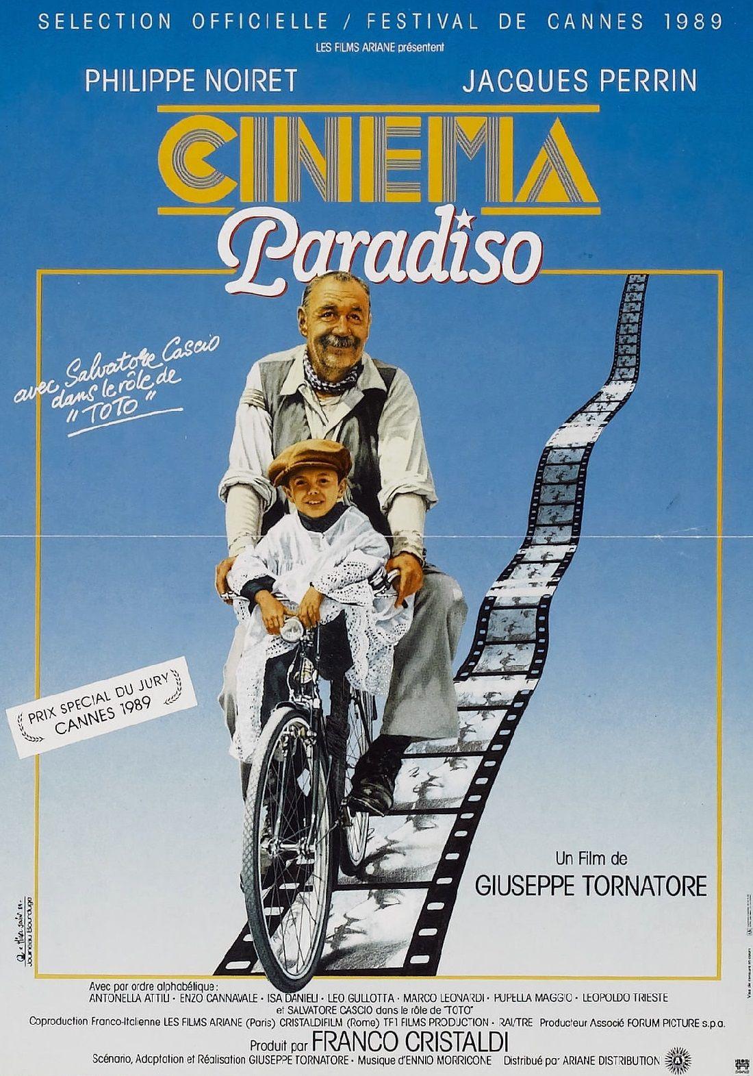 Locandina Nuovo Cinema Paradiso Cinema Paradiso Cinema Film