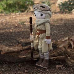 free crochet patterns for star wars characters - Google Search