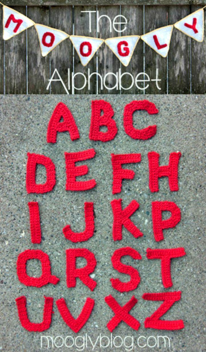 Crochet Letters Patterns Free Unique Decorating