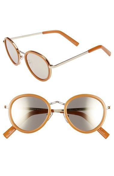 f66aedd8388 Cole Haan 48mm Round Sunglasses