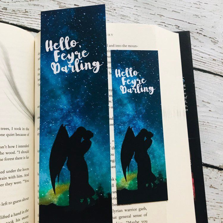 Acomaf Bookmarks Hello Feyre Darling A Court Of Thorns And Roses