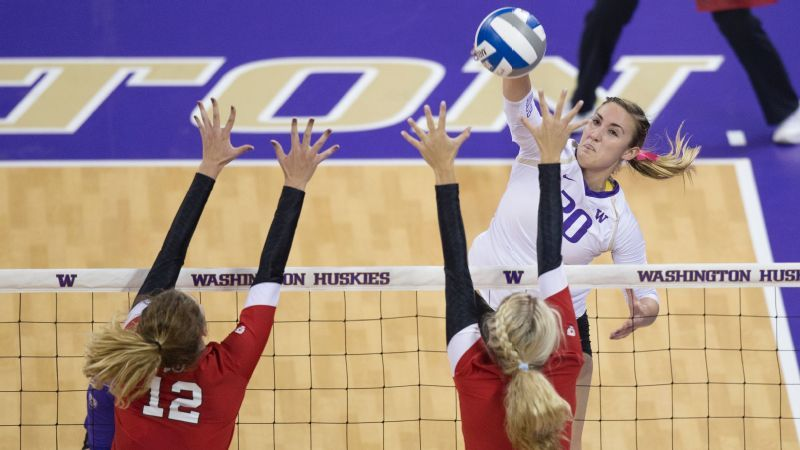 NCAA volleyball Film and records for Scambray