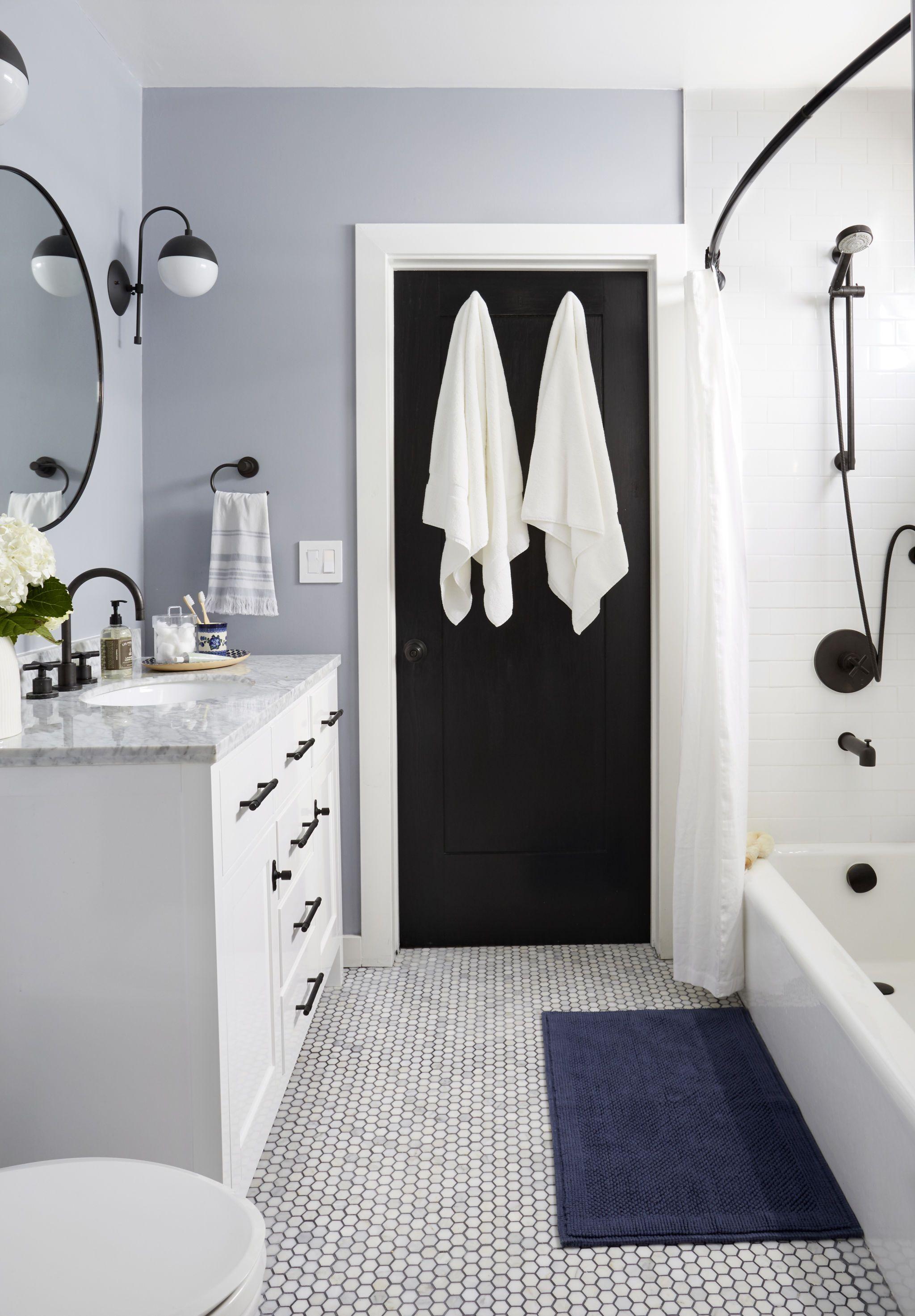 Modern Traditional Bathroom Refresh Get The Look Emily Henderson Traditional Bathroom Bathroom Refresh Easy Bathroom Updates