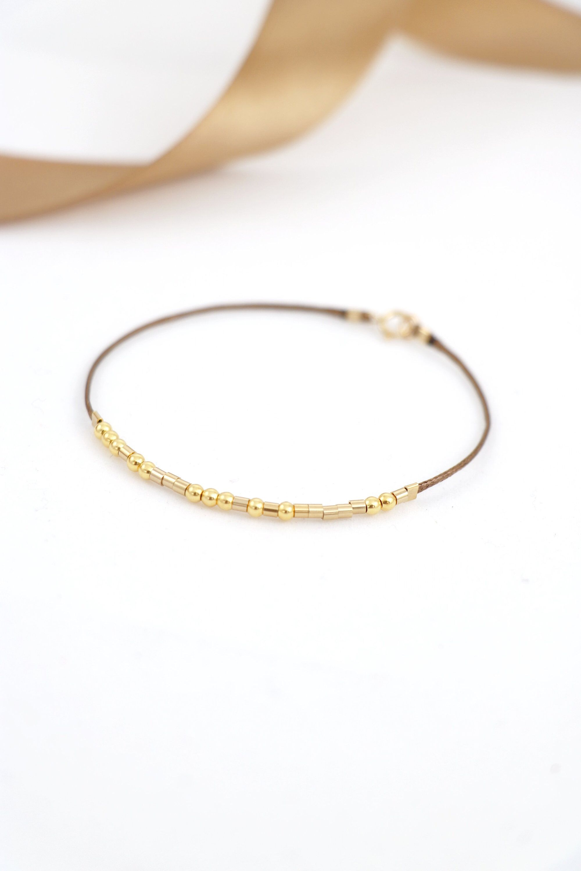 Excited To Share This Item From My Etsy Shop Morse Code I Love You Bracelet Elegant Gift