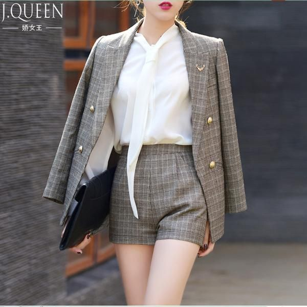 Pant Suit With Shorts