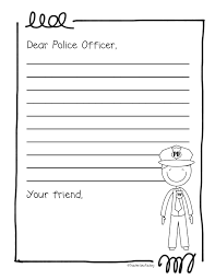 Ideas For Thank A Police Officer Day Google Search Police Appreciation Week Police Officer Friendly Letter