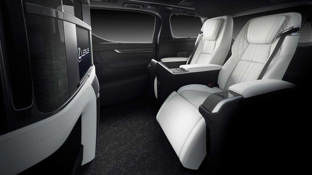 Lexus Lm Minivan Revealed At 2019 Shanghai Auto Show In 2020