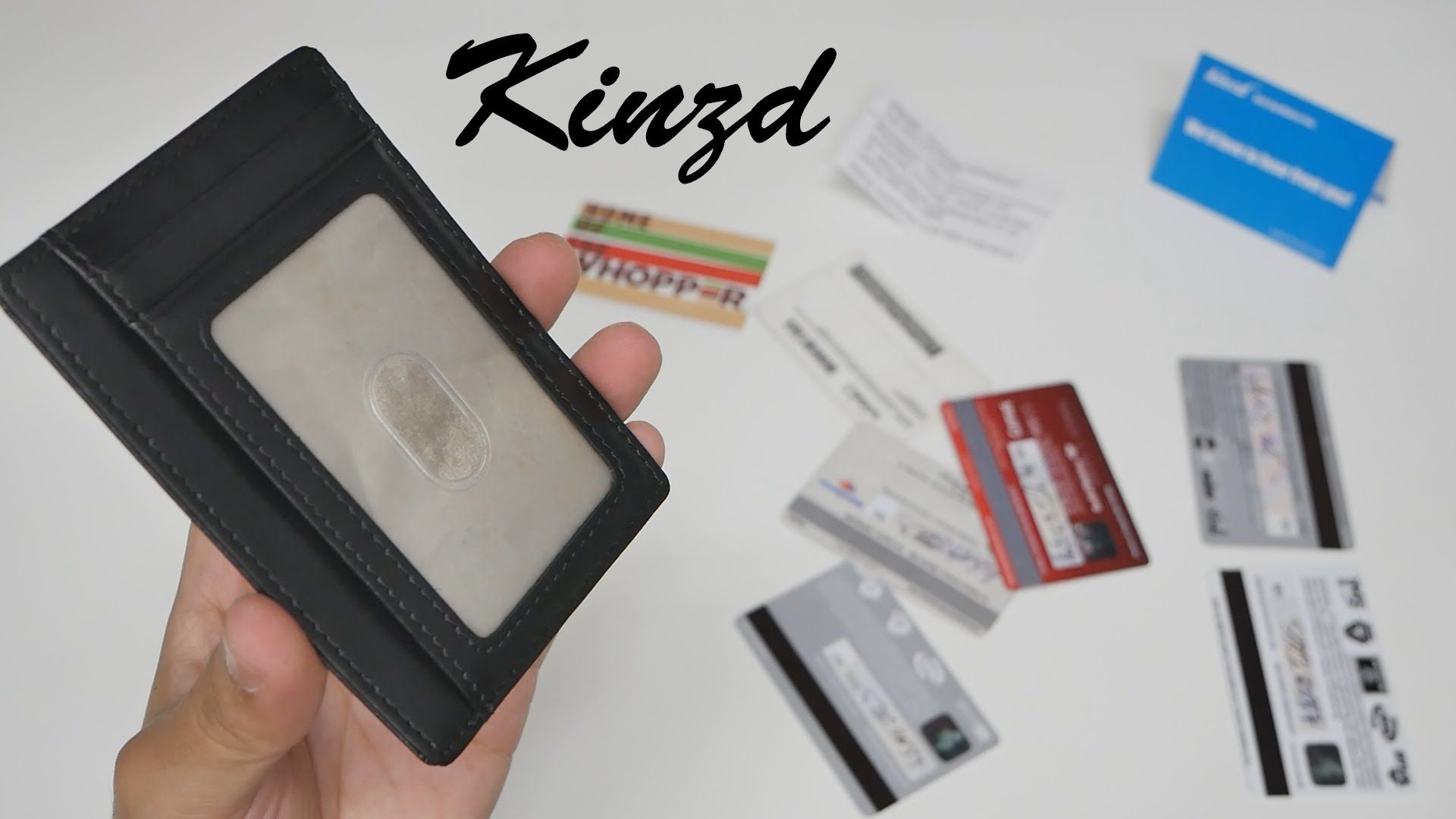 Kinzd: Your New Slim Wallet